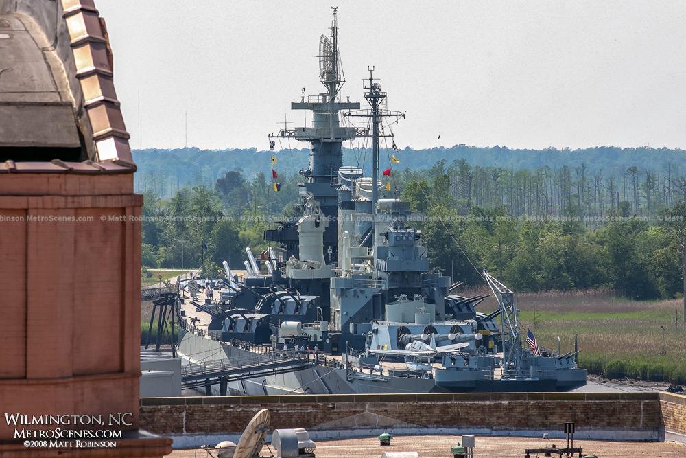 NC battleship, Wilmington, NC