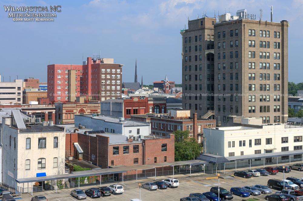 Wilmington NC Skyline