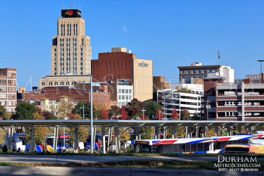 Durham North Carolina Skyline