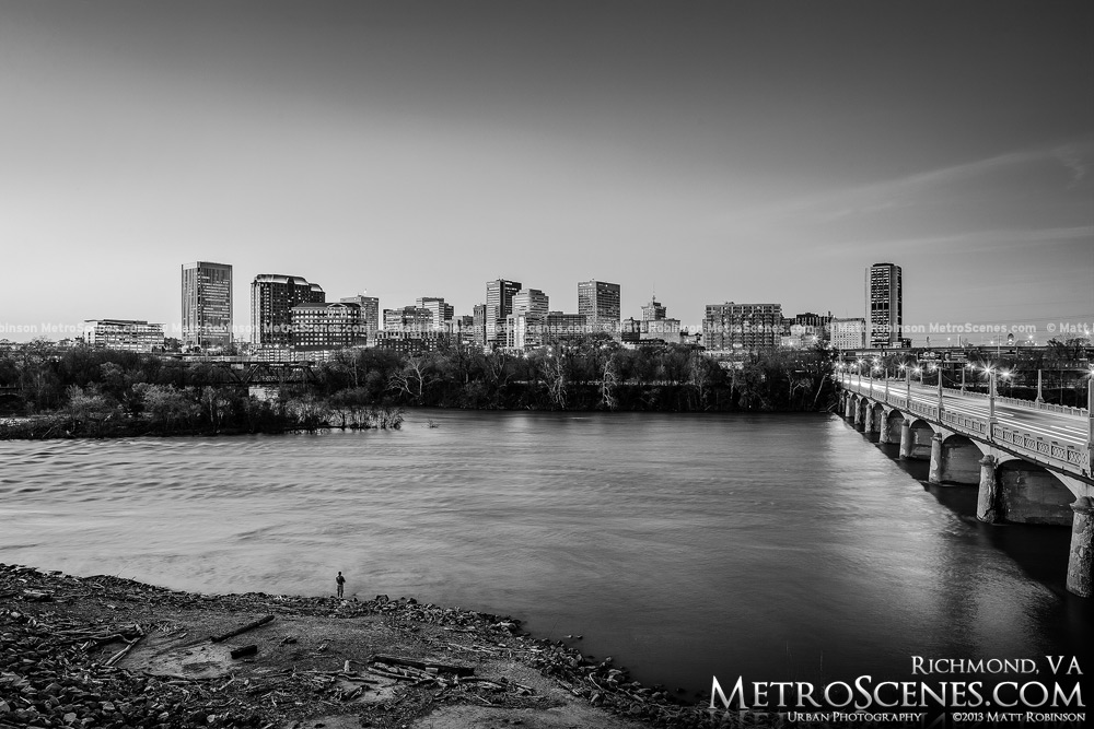 Richmond Virginia Black and white