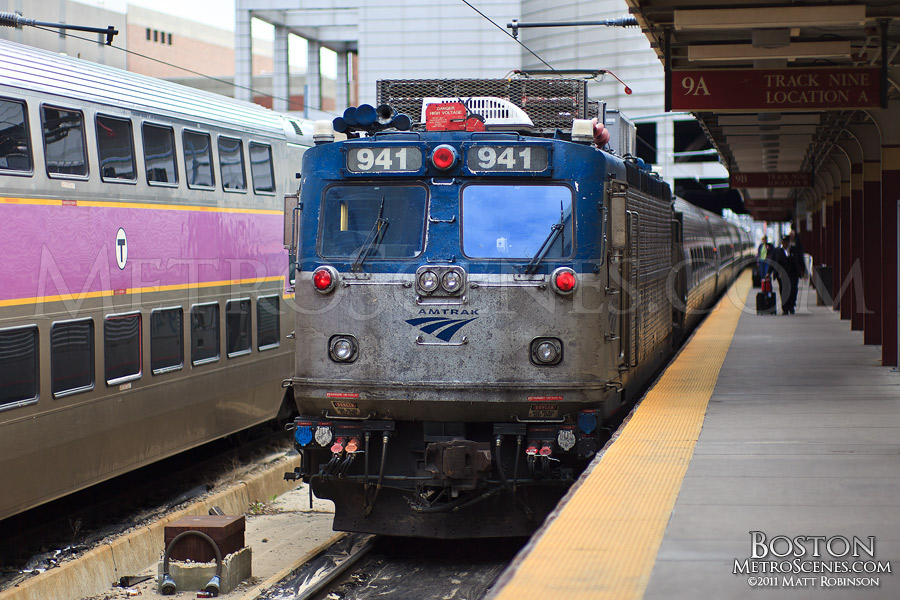 Amtrak Regional Locomotive 941