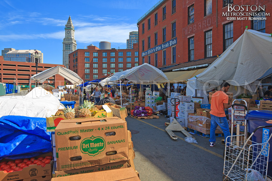 Haymarket in Boston