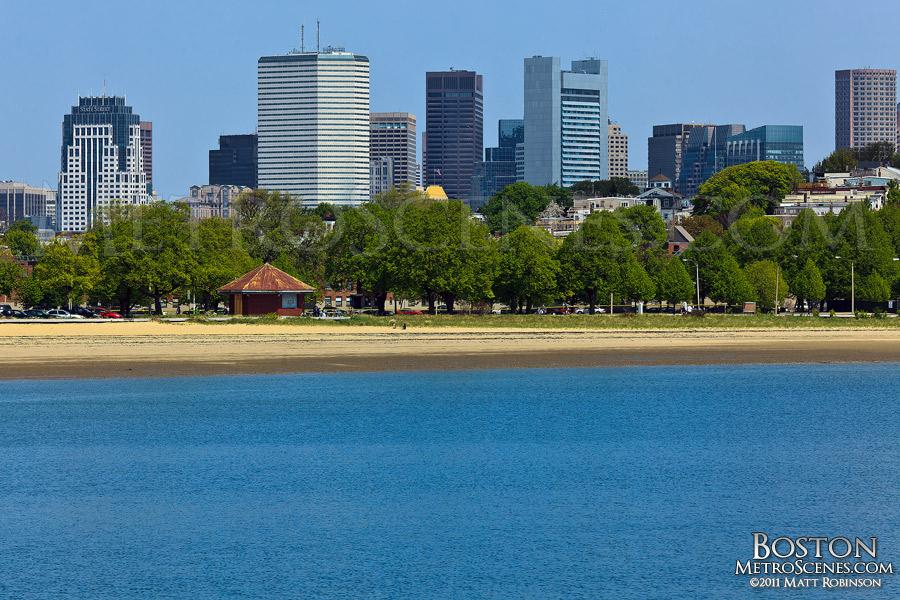 Boston Skyline across the Old Harbor