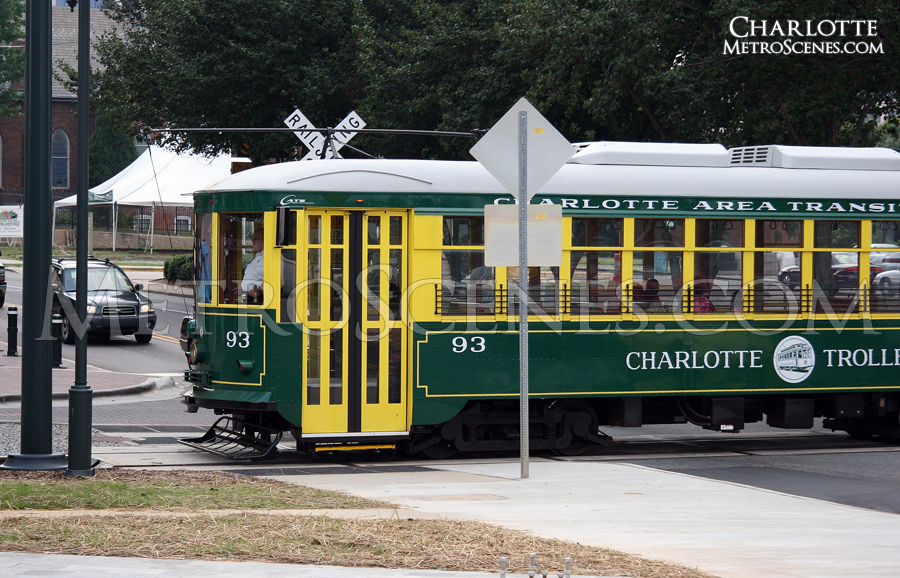 Original Charlotte Trolley Car