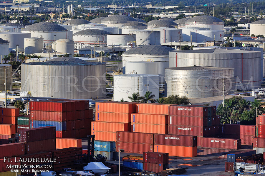 Port Everglades Oil and Cargo