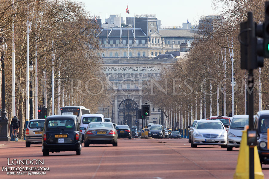 Looking down The Mall, London