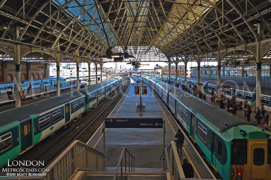 National Rail at London Bridge Station