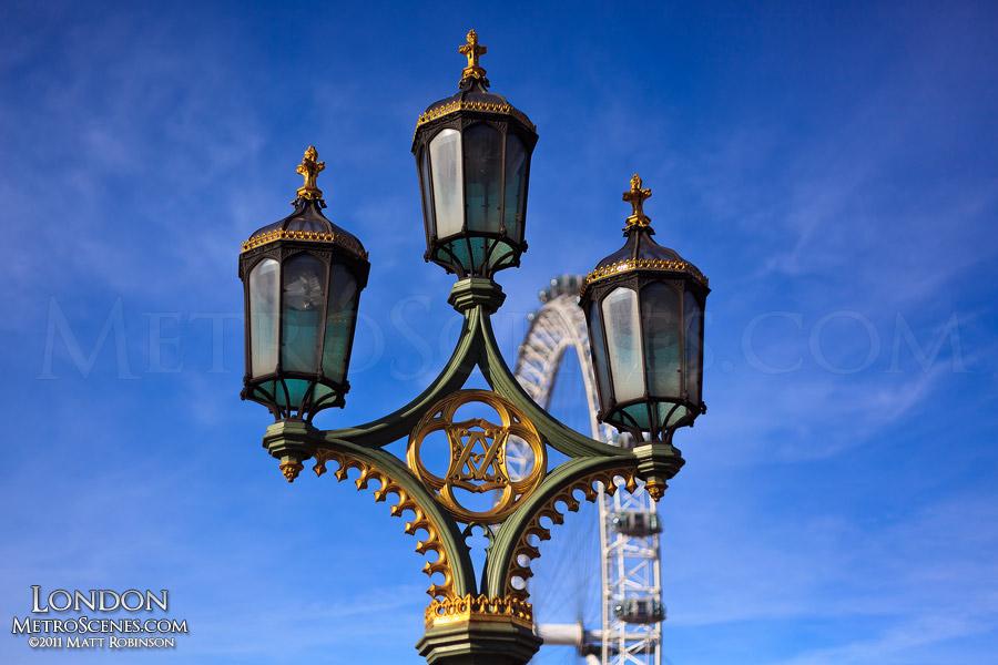Light Pole on Westminster Bridge