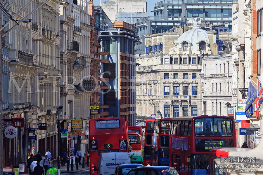 Ludgate Hill Facades