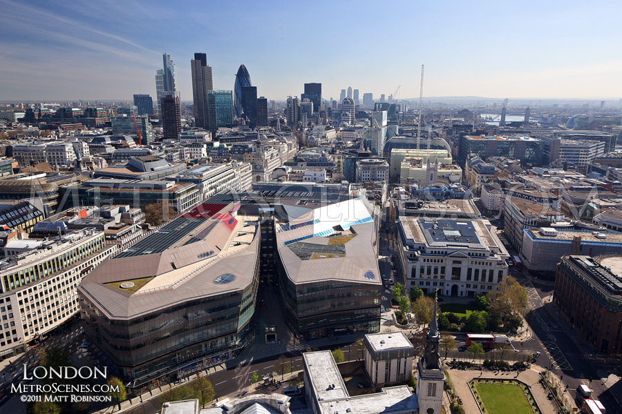 View of London from the dome of St. Paul's Cathedral