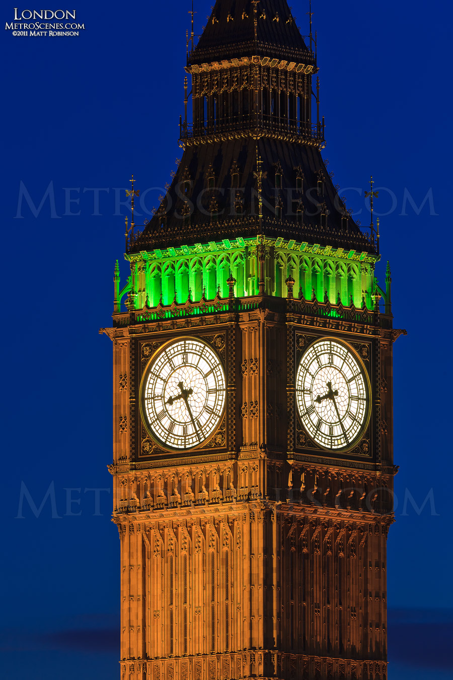 Detail of the Clock-face of Big Ben