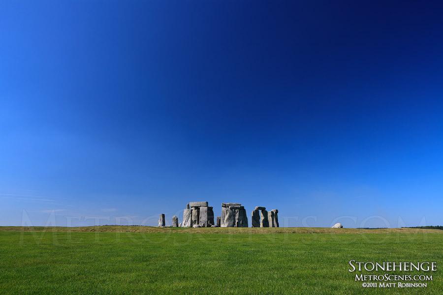 Stonehenge and Sky