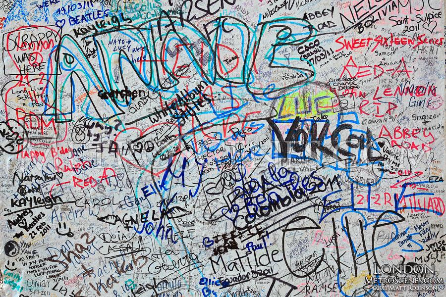 Abbey Road Graffiti