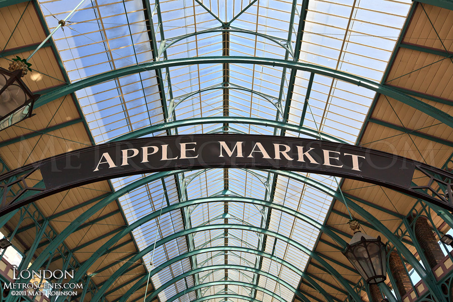 Apple Market at Covent Gardens