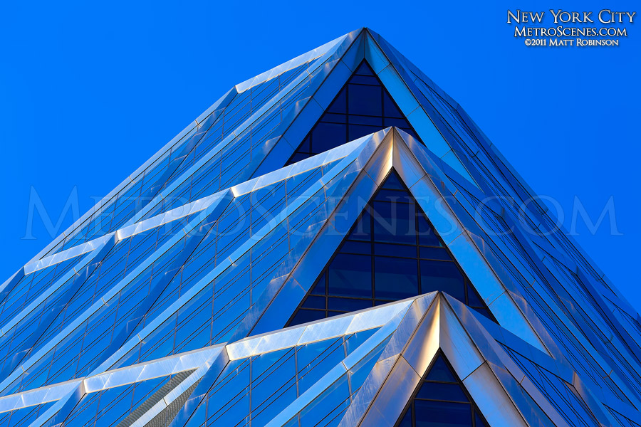 Detail of Hearst Tower, New York