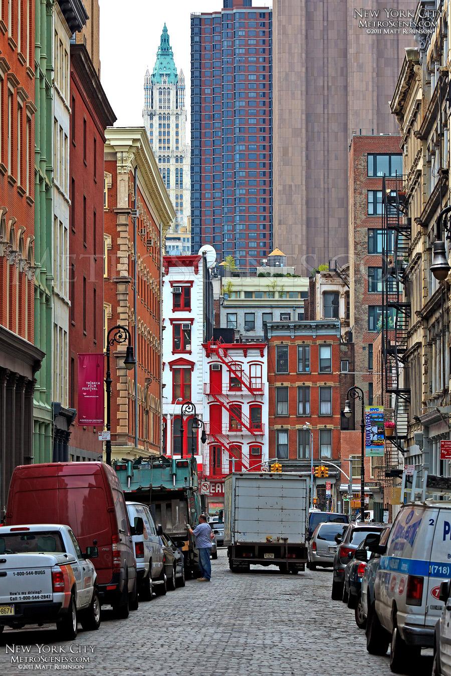 Mercer Street in New York City