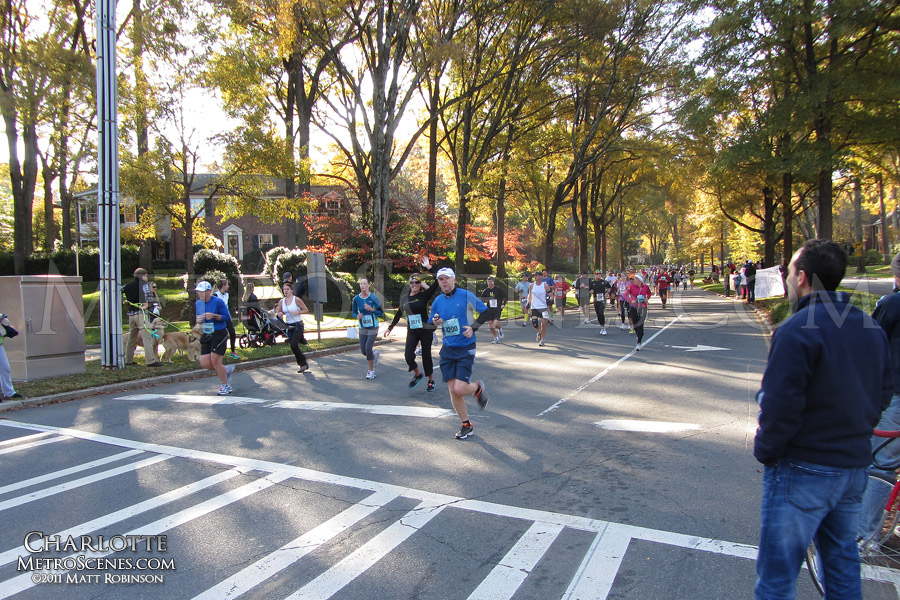 Charlotte Thunder Road Marathon Runners