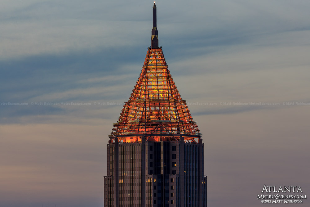 The Crown of Bank of America Plaza Atlanta