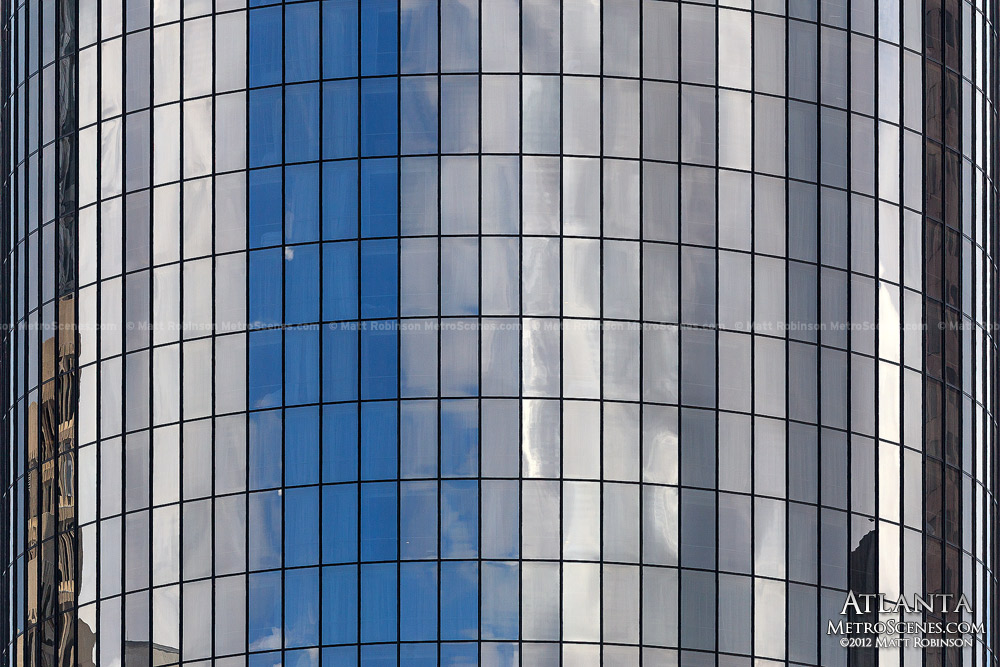 Windows of the Westin Peachtree Plaza