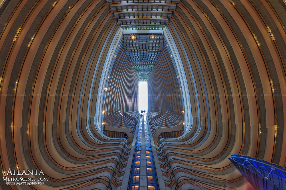 Inside The Marriott Marquis Hotel In Atlanta