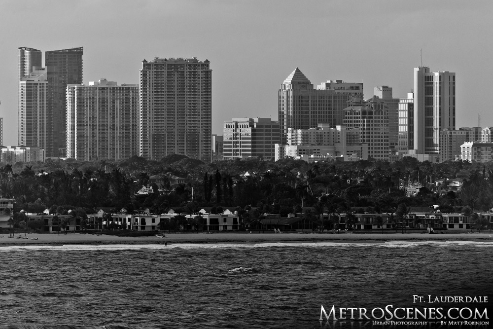 Fort Lauderdale Black and White