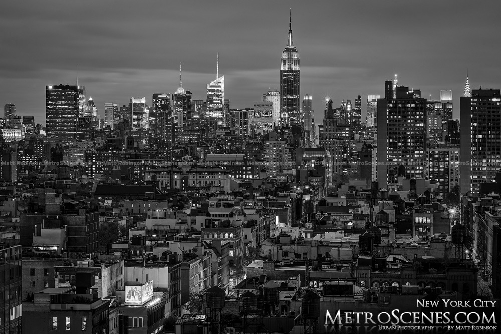 Black and White City S...