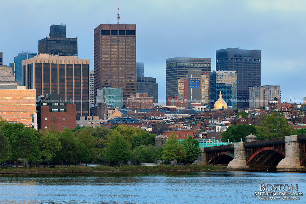 Boston Skyline and Beacon Hill