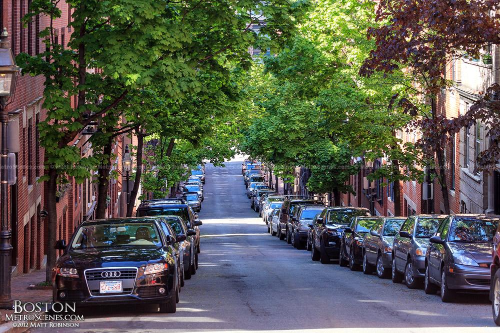 Beacon Hill Street scene