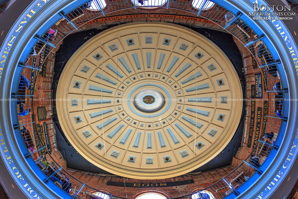 The Quincy Market Rotunda Dome