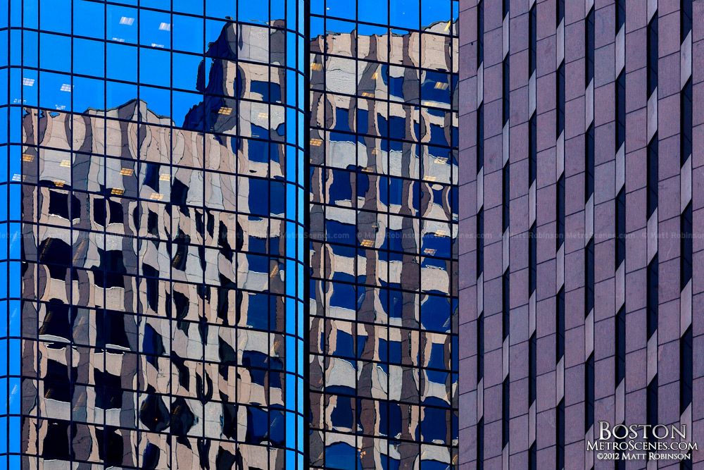 Boston office tower Reflections