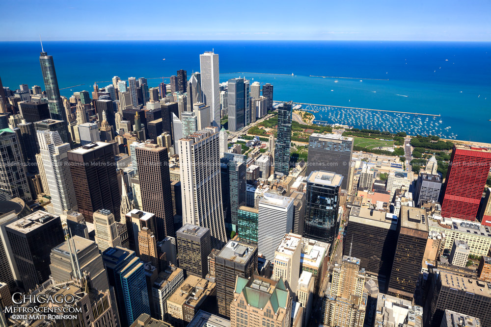 Chicago from the Sears Tower Skydeck