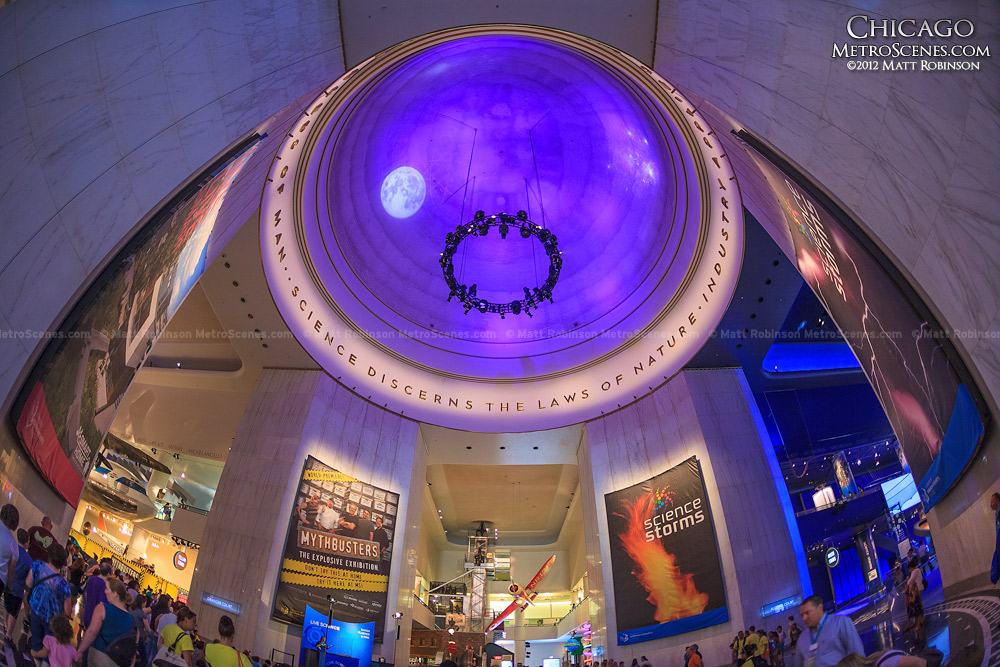 Rotunda of Chicago's Museum of Science and Industry