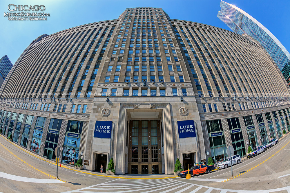 Fisheye of Merchandise Mart