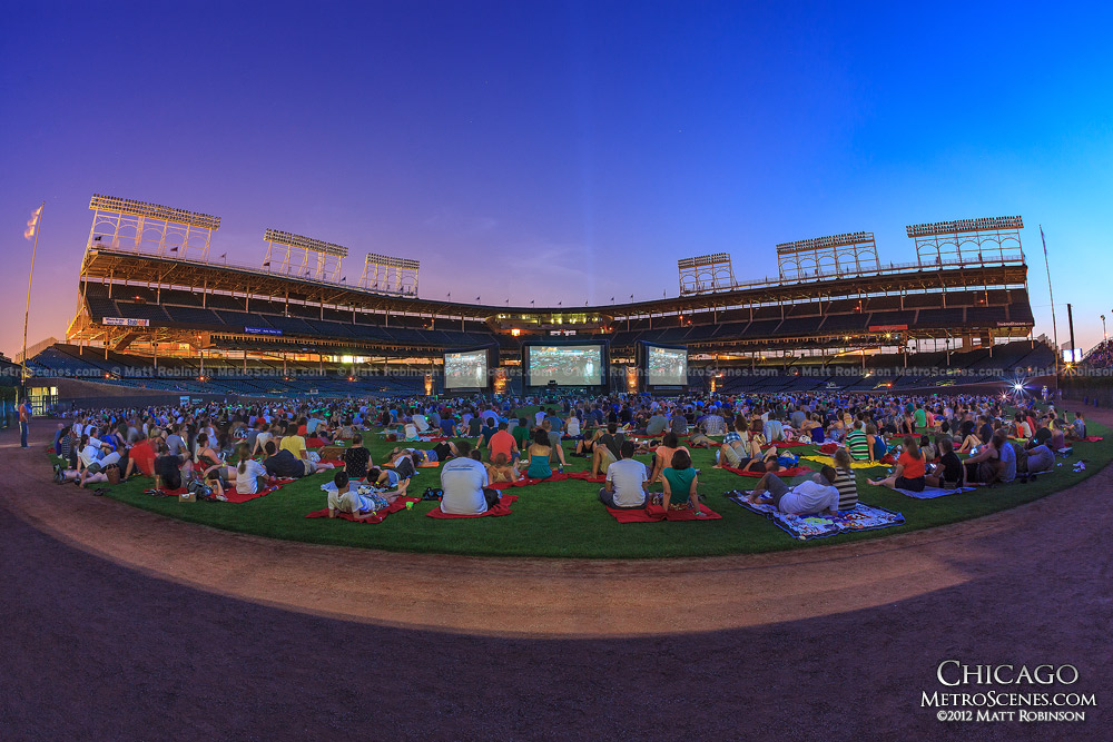 The Blues Brothers Movie Night at Wrigley Field