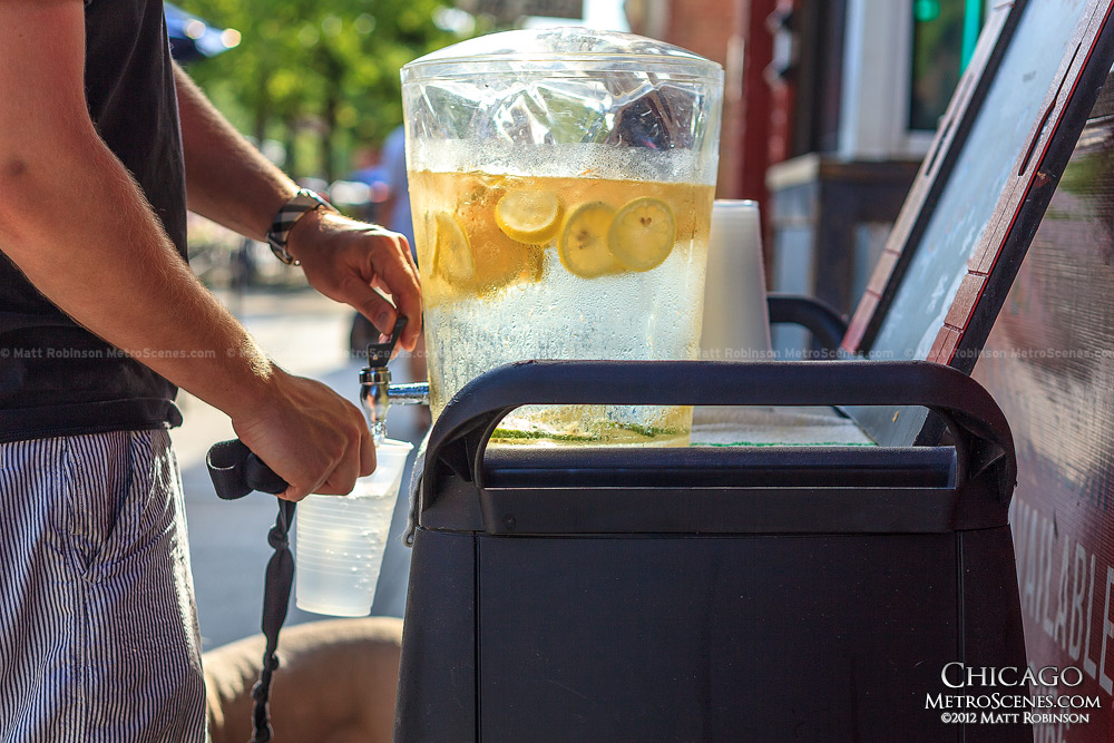 Lemon Ice Water