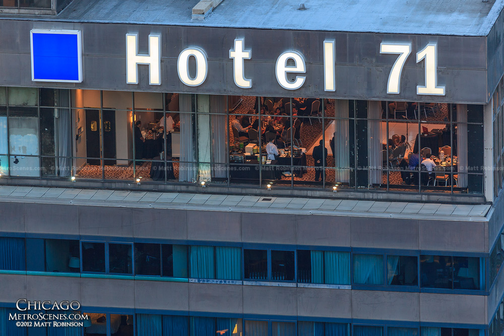 Hotel 71 from Marina City
