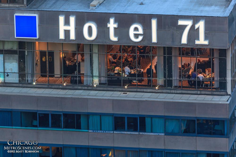 Hotel 71 from Marina City
