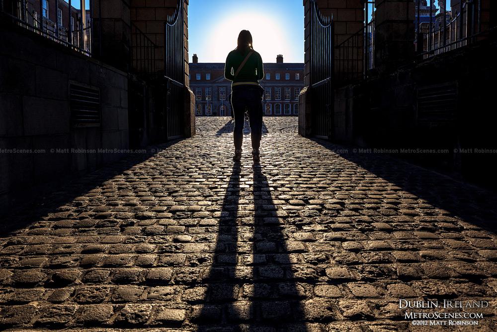 Entrance to Dublin Castle courtyard