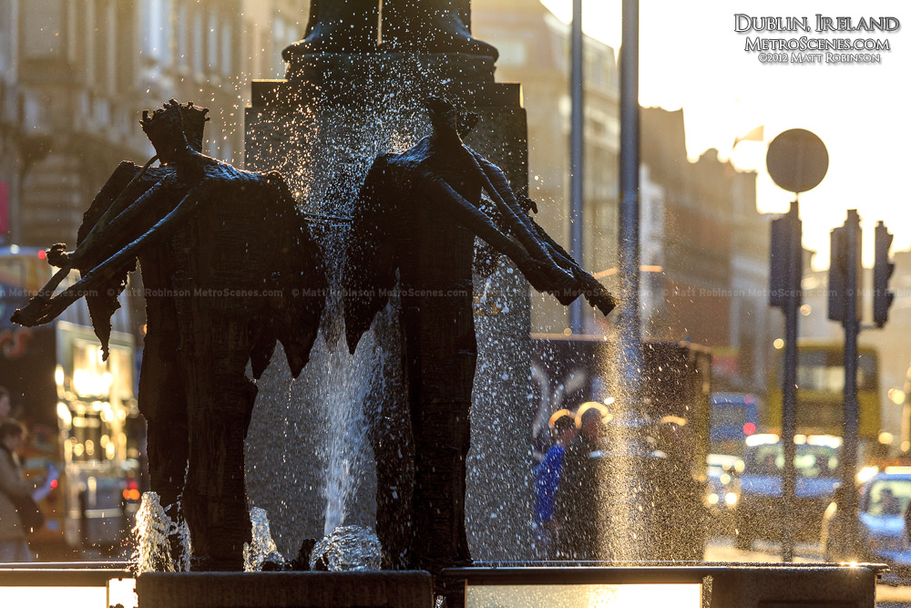 Dublin Trumpeter Fountain