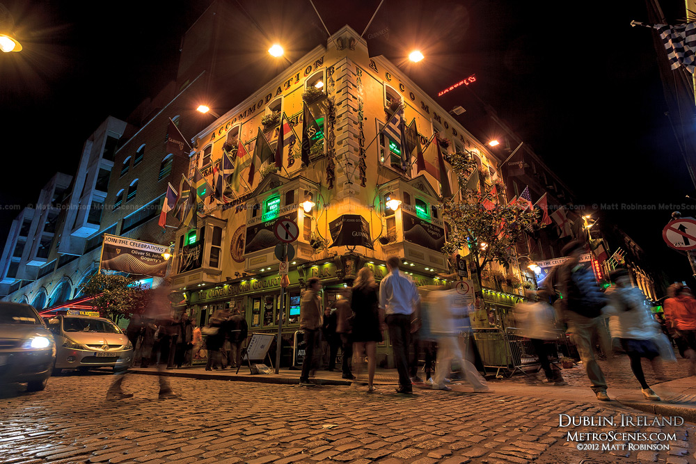 Oliver St. John Gogarty Bar in Temple Bar Dublin