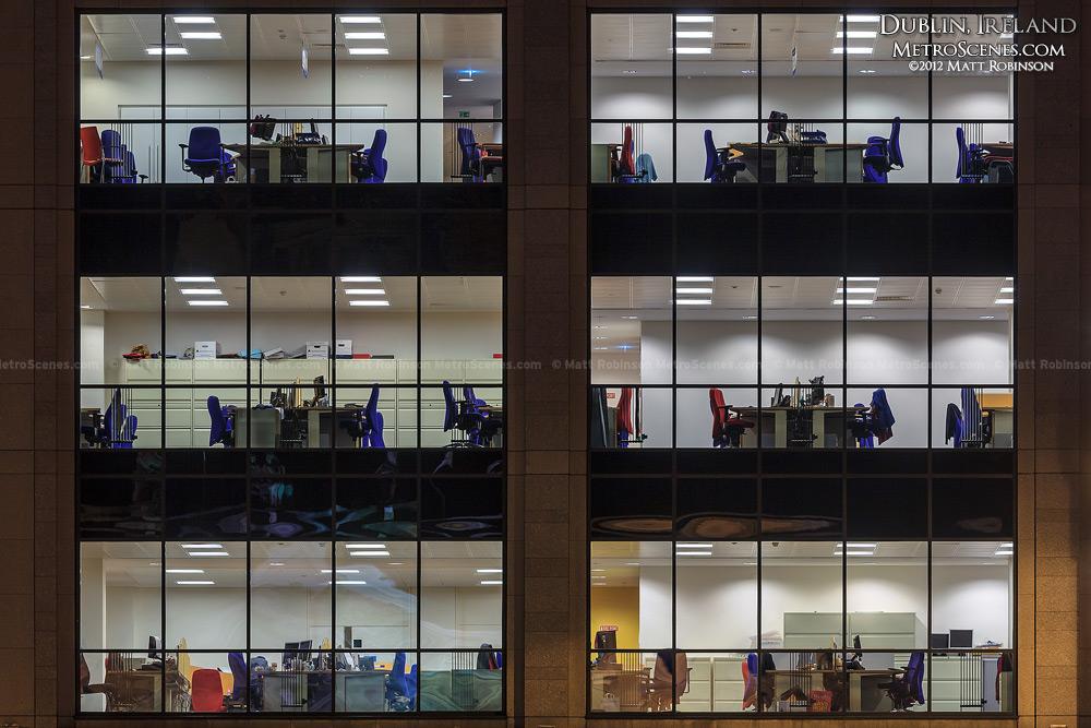 Dublin office windows