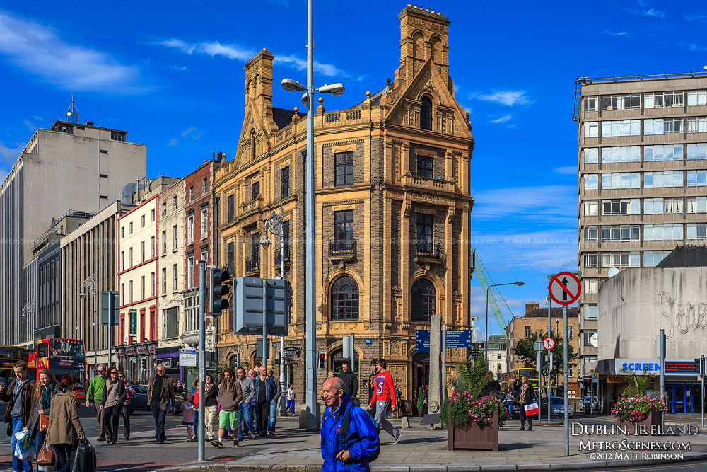 D'Olier Chambers building in Dublin