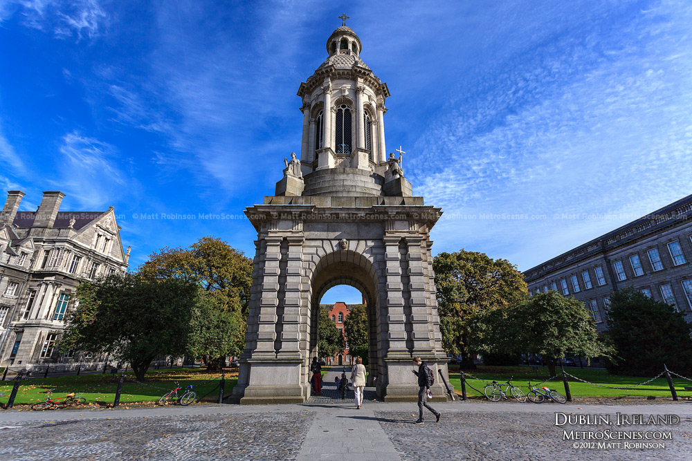 The Campanile at Trinity College, Dublin