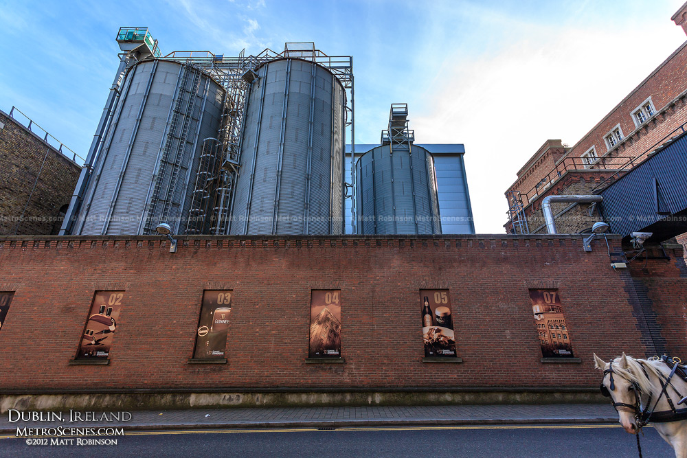 Tanks of the Guinness Brewery