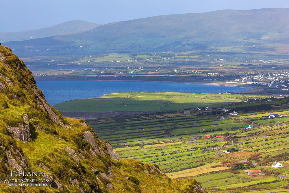 Overlooking mountains near Waterville, Ireland