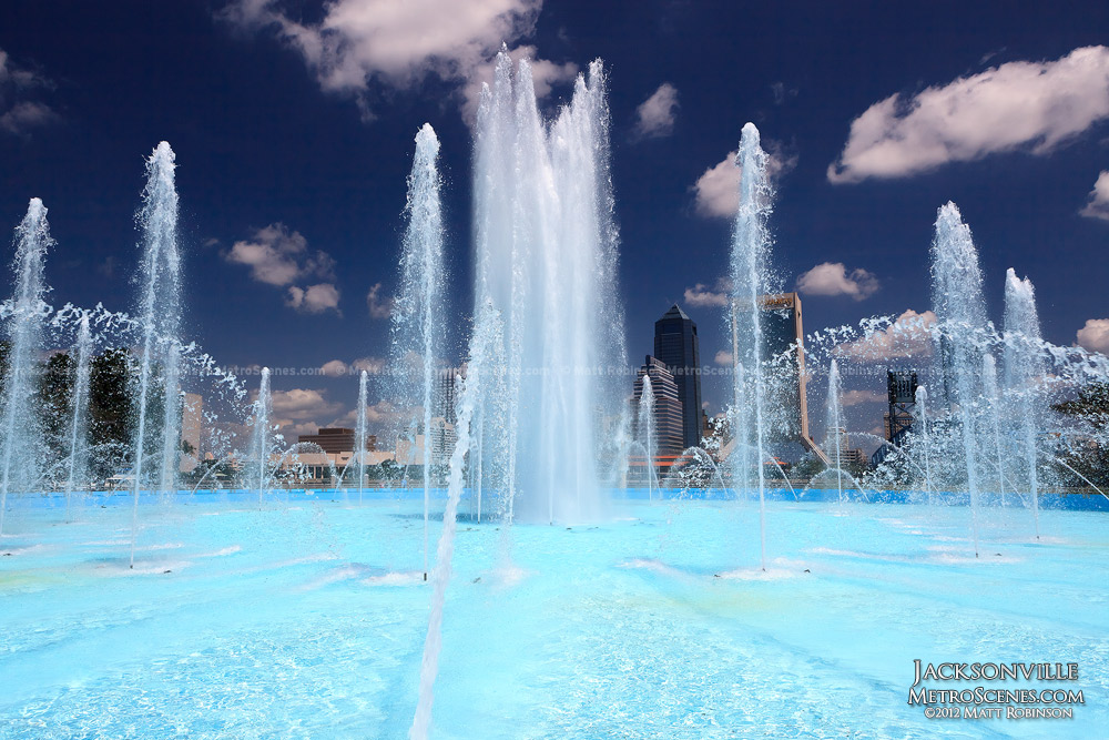 Friendship Fountain in Jacksonville, Florida