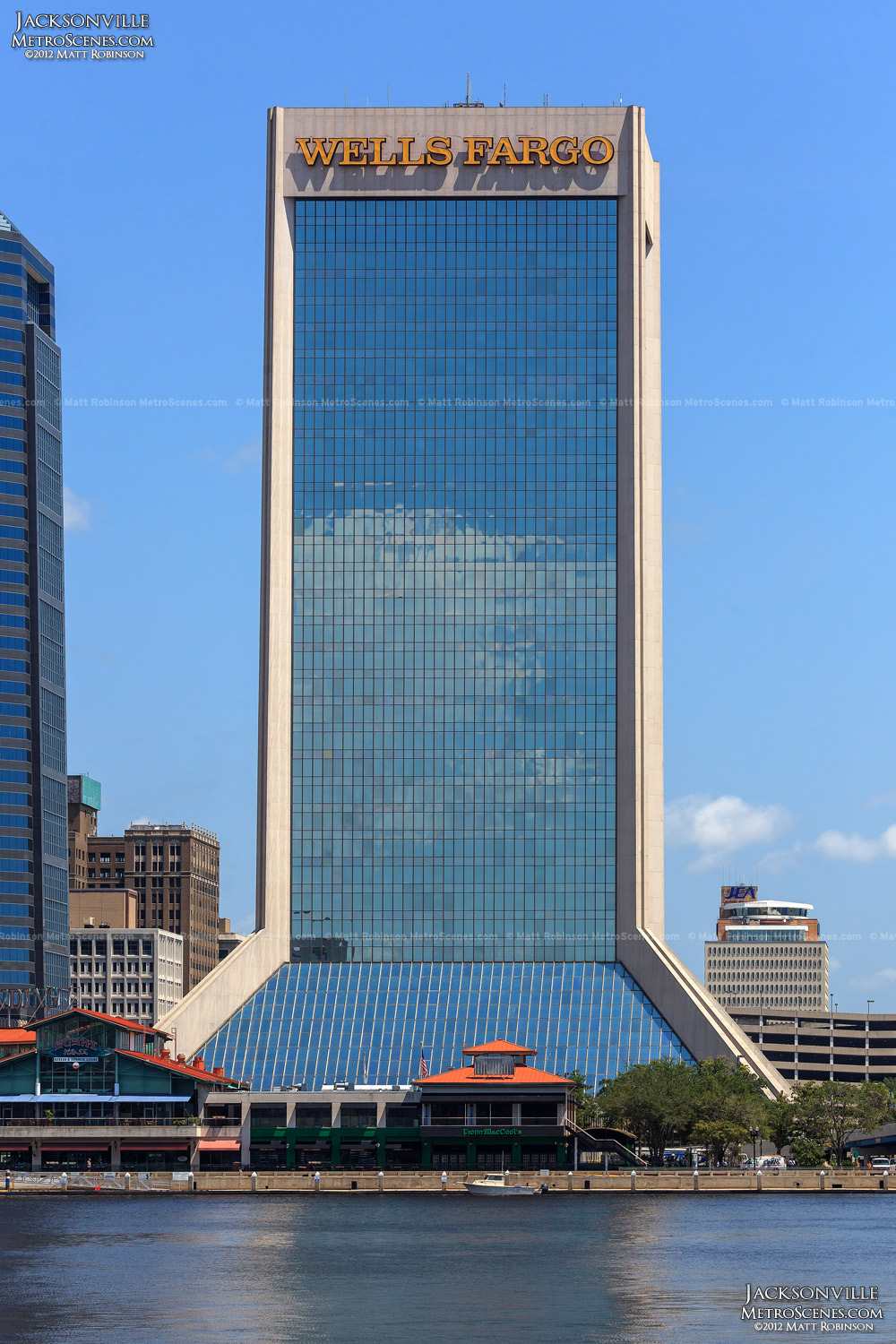 Wells Fargo Center in Jacksonville