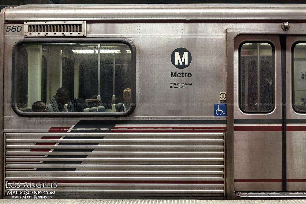 Los Angeles Metro Car