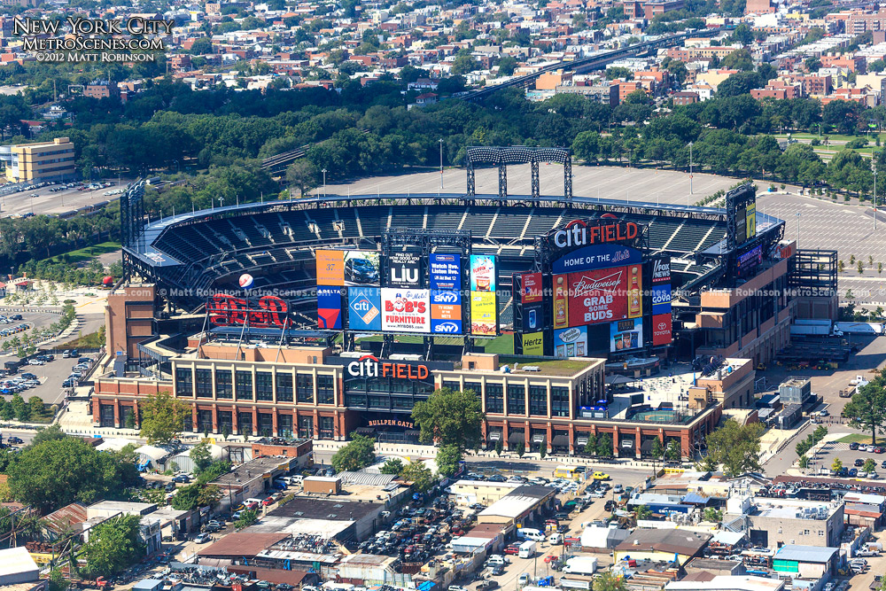 Citi Field Aerial - New York Mets