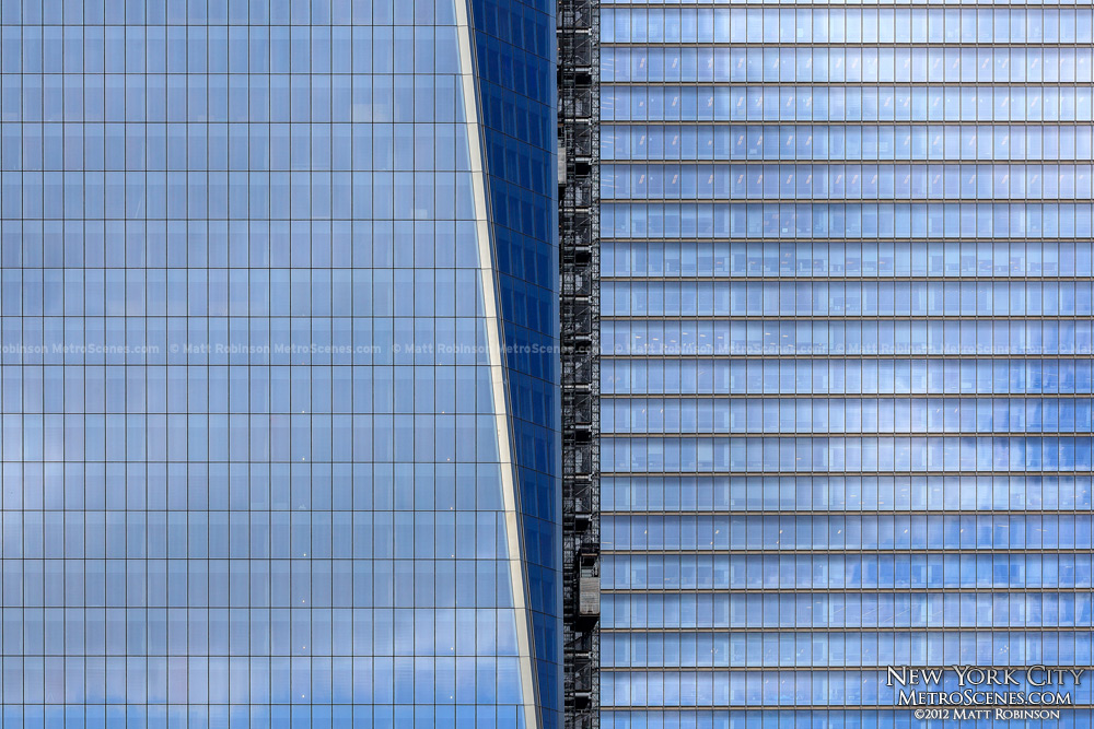 One and Seven World Trade Center Glass Panels
